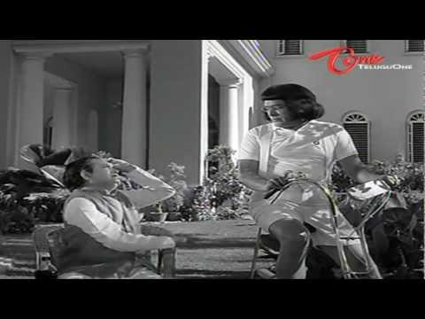 Rao Gopal Rao As Kid Comedy Scene With Allu Ramalingaiah - NavvulaTV