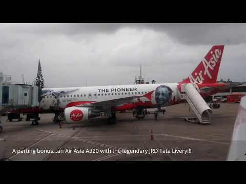 GoAir Airbus A320 Mumbai to Goa Flight experience