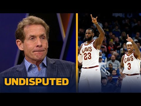LeBron's Cavs are in trouble after Isaiah Thomas clotheslined Andrew Wiggins | UNDISPUTED