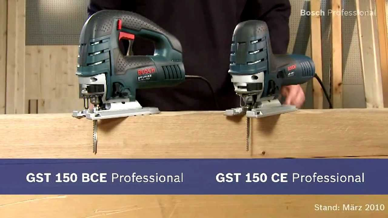 bosch stichs ge gst 150 ce die st rkste ihrer preisklasse youtube. Black Bedroom Furniture Sets. Home Design Ideas
