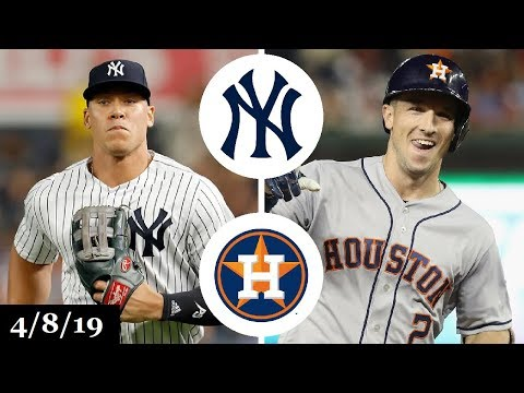 New York Yankees vs Houston Astros Highlights | April 8, 2019