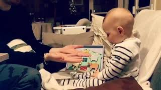Funny babie Vs clever dad