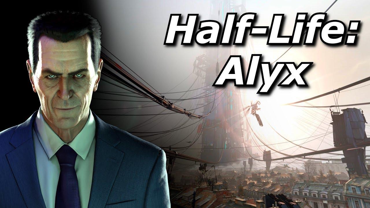 Valve reveals VR-exclusive game Half-Life: Alyx