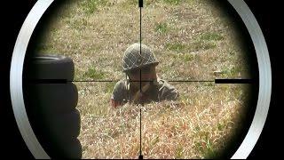 サバゲスナイパー「Air Soft Sniper No,39」 エアコキ限定戦「コキコキしま戦火」in Schwarzwald 2016.03.27 thumbnail