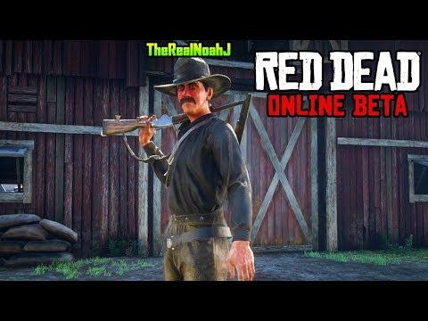 RED DEAD REDEMPTION 2 ONLINE MULTIPLAYER BETA GAMEPLAY (RDR2 Online Gameplay)