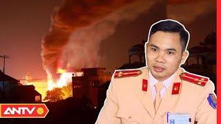 Người công an lao vào biển lửa trong vụ cháy kinh hoàng ở Xuân Mai   NVSK   ANTV