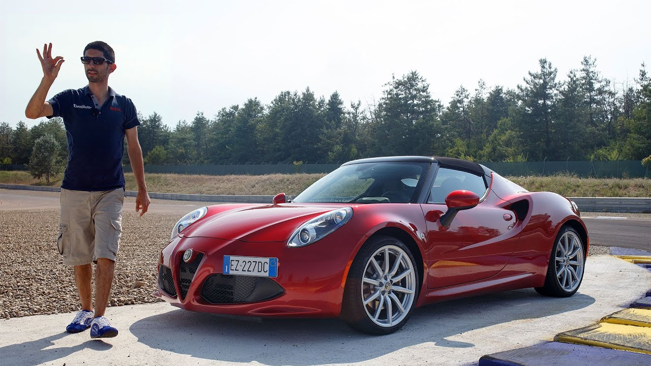 alfa romeo 4c spider per togliersi qualche sassolino guidando youtube. Black Bedroom Furniture Sets. Home Design Ideas