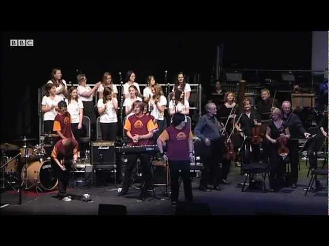 PMZ and the BBC Concert Orchestra - One Day Like This (Elbow) 28th June 2011