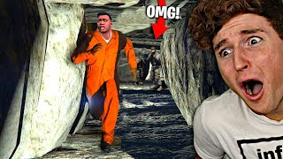 I Broke Out Of PRISON In GTA 5..! (TERRIFYING)