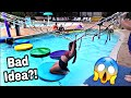 FAMILY FUN AT WATER PARK | Revenge on Parents MAGIC SPRINGS
