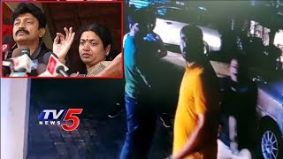 Attack On Hero Rajasekhar's Brother: CCTV Visuals | TV5 News