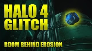 Halo 4 - glitch / secret room - out of Erosion alive!