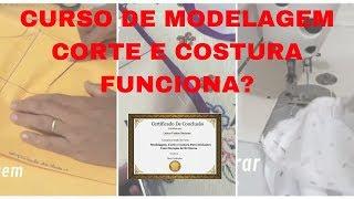Curso de Modelagem Corte e Costura Funciona