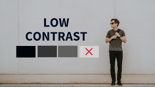 An Easy Way to Look Lean and Stylish | Low Contrast Outfits