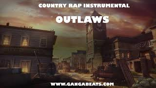"""Country Hick-Hop Rap Instrumental """"Outlaws"""""""