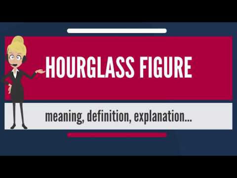 What is HOURGLASS FIGURE? What does HOURGLASS FIGURE mean? HOURGLASS FIGURE meaning & explanation