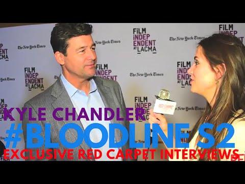 Kyle Chandler interviewed at the S2 Screening of Bloodline on Netflix #LACMA #Bloodline #Netflix