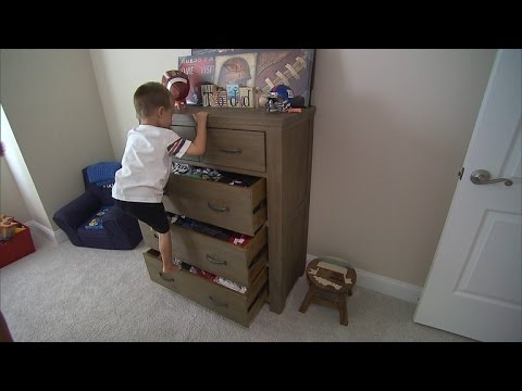 Watch a Toddler Easily Pull Down Furniture As IKEA Issues Warning