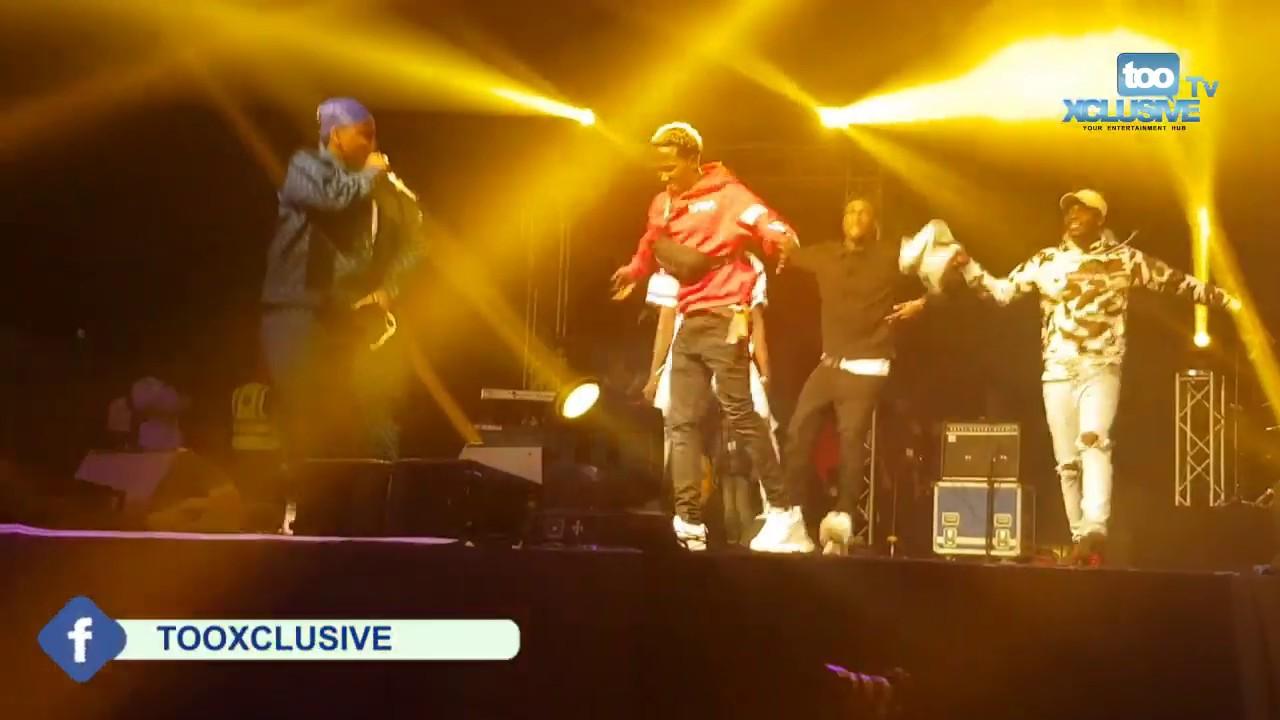 Download Sydney Talker,Nasty Blaq,Okiki & Pankee Roy Join Teni On Stage In Dubai