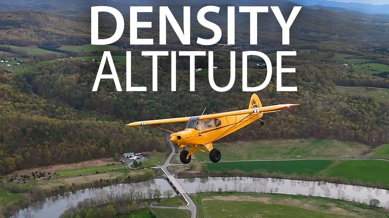 98c51684fdd92 Density Altitude - the triple H effect - YouTube