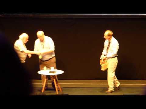 David Leigh magic at ISMSC Conference,  Cambridge, 2017