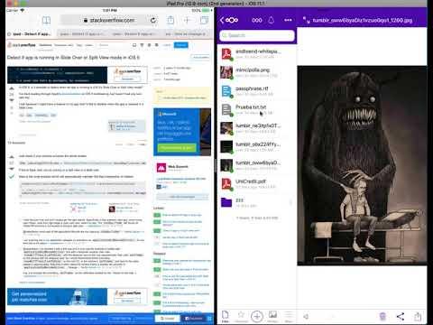 iPad support in the Nextcloud iOS app