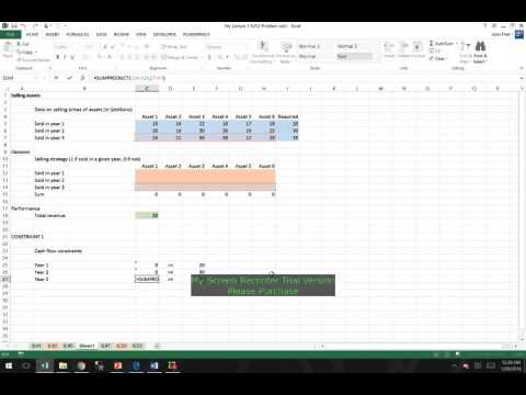 Excel solver constraints binary options johannes ambrose bettingenius
