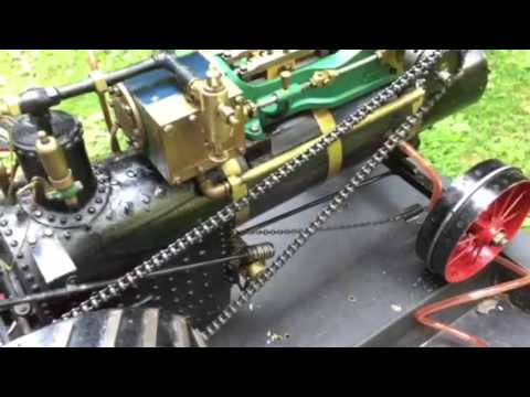 1 1/2 inch scale Steam Tractor, Part 1 of 2