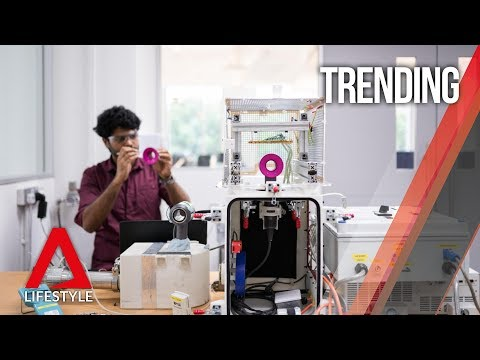 Inside Dyson's High-tech R&D Facility In Singapore | CNA Lifestyle