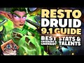Gambar cover Restoration Druid Guide for Mythic+  Shadowlands 9.1
