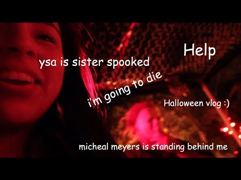 what teenagers actually do on halloween| ysa garcia :)