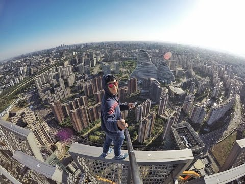 Roofing At Green Land Center Tower(256m) Beijing China