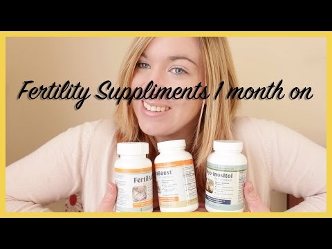 Fairhaven health Fertility suppliments - 1 month on