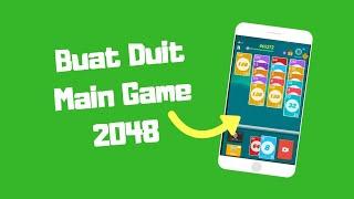 Buat Duit Online Main Game 2048