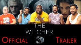 The Witcher Netflix Series - Official Trailer Reaction