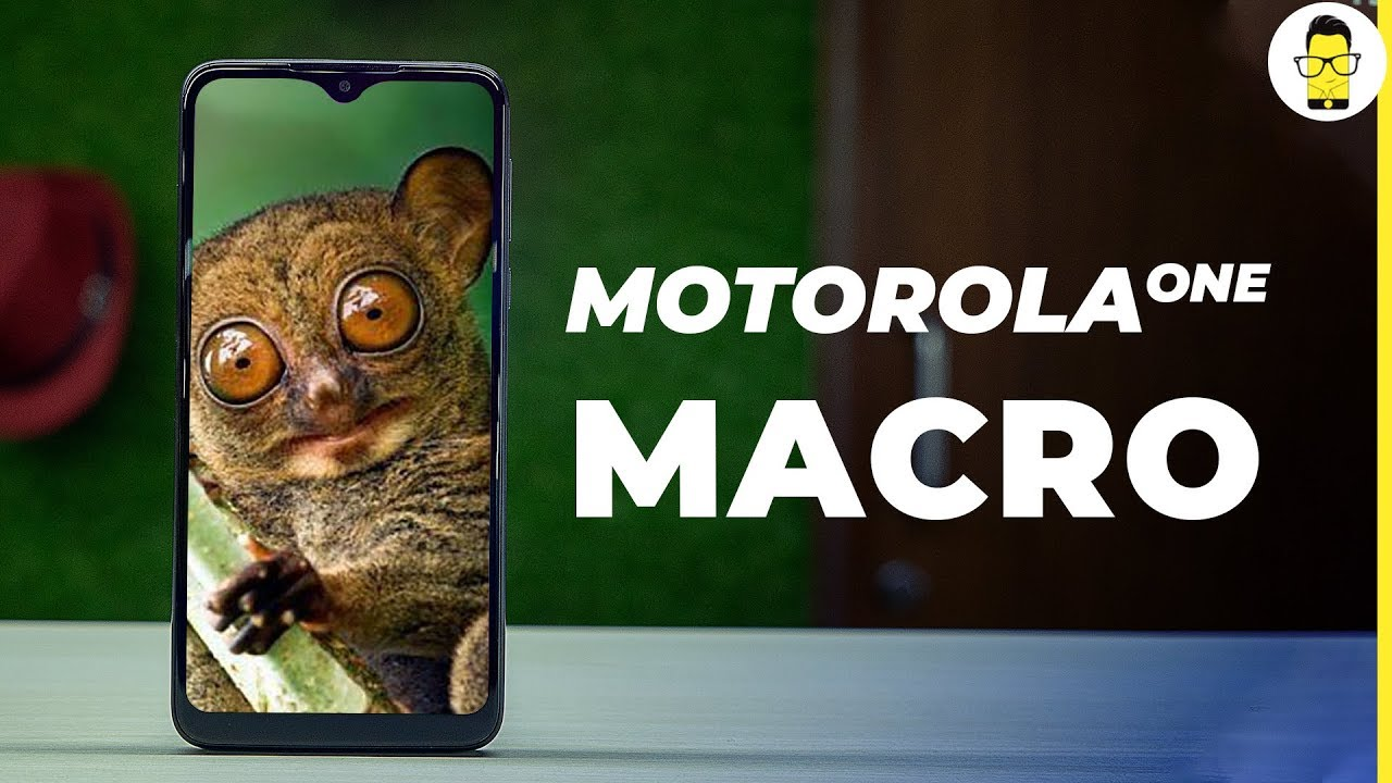 Novelty Motorola One Macro great choice