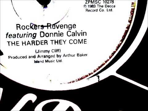 """rockers-revenge---the-harder-they-come-1983-(12""""-long-version)"""
