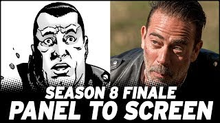 The Walking Dead Season 8 FINALE - Show vs. Comic!