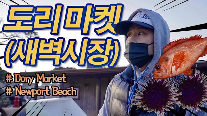 """🔺""""유승준 먹방 """"🔺드디어 새벽 시장을 가다 !Dory Fish 🐠 🦀🦐Market  Newport Beach 해산물 먹방?!"""
