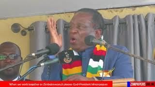 President Mnangagwa - Let us preserve Zimbabwe for generations to come. - 23 May 2018