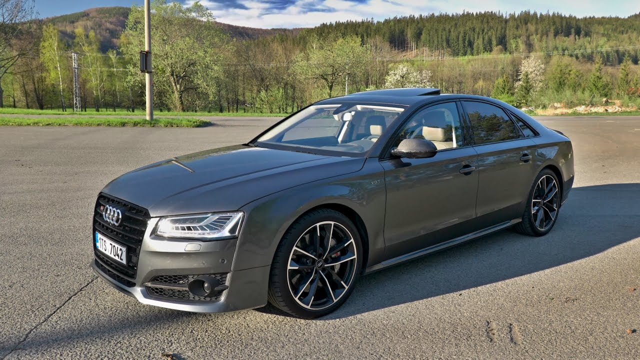 Audi S8 Plus   4.0 V8 445 kW a 750 Nm