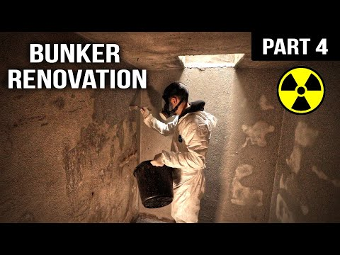 WW2 Bunker Renovation: Sealing the Inside (PART 4)