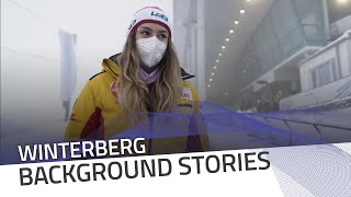 Winterberg track preview with Laura Nolte | IBSF Official