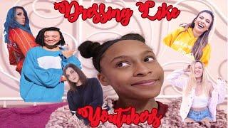 Dressing Like YouTubers| Haley Pham, Adelaine Morin, Alisha Marie, Safiya Nygaard, Niki Demar