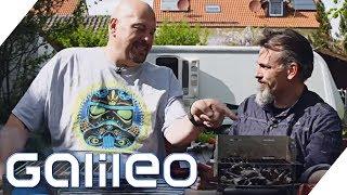 Umweltfreundlich Grillen - Jumbo macht den Test | Galileo | ProSieben