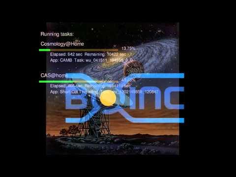 Boinc - SETI - Space Lab