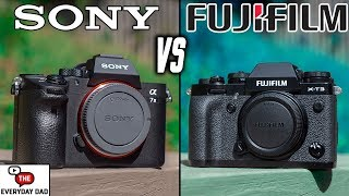Fuji XT3 VS Sony A7III!  Full Frame VS APSC Which one is the BEST?  (It might surprise you 😳)