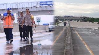 Banjir di Km 604 Ruas Tol Caruban Solo Surut hingga 10 Cm, Tol Mulai Beroperasi Normal