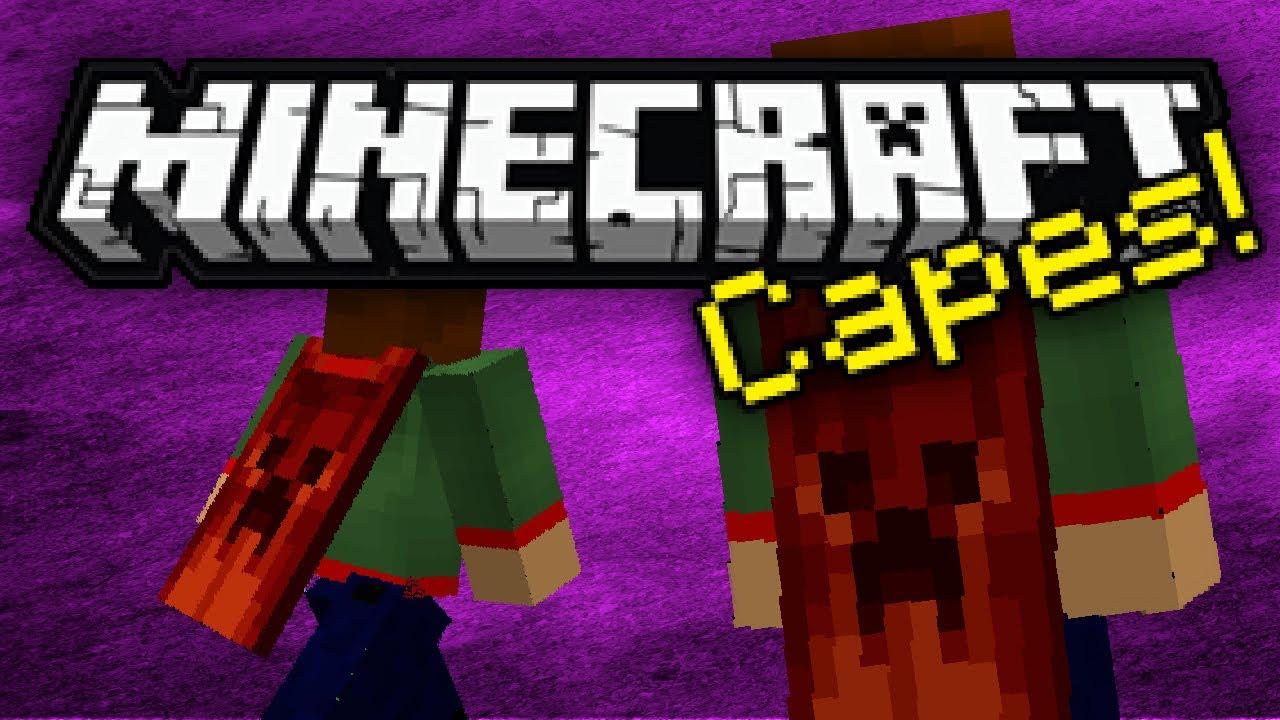 Minecraft - Minecraft Capes - ModReview - Capes/Umhänge ...