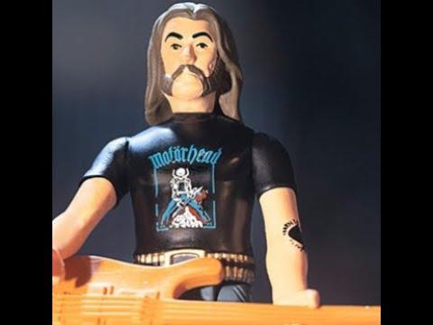 "New Motörhead frontman Ian ""Lemmy"" Kilmister Super7  'ReAction' figure"